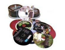 Bulk Audio CD's and DVD's